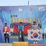 2019IWWF亚洲滑水锦标赛中国男子花样夺金